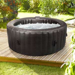 Wido ROUND INFLATABLE SPA HOT TUB 300 AIR JETS 4 PERSON QUICK HEATING JACUZZI239.99 delivered with code £239.99 @ Wido on ebay