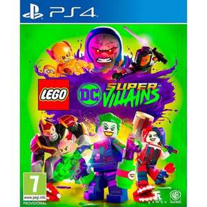 LEGO DC Supervillains (PS4) £15.95 @ The Game Collection