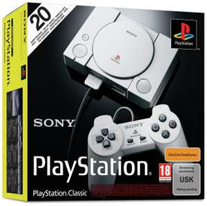 SONY Playstation Classic Console (20 Games Preloaded) - £29.99 @ Argos