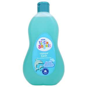Little Angels Menthol Vapour Bath 500ml 87p @ Asda - helps with hayfever for kids