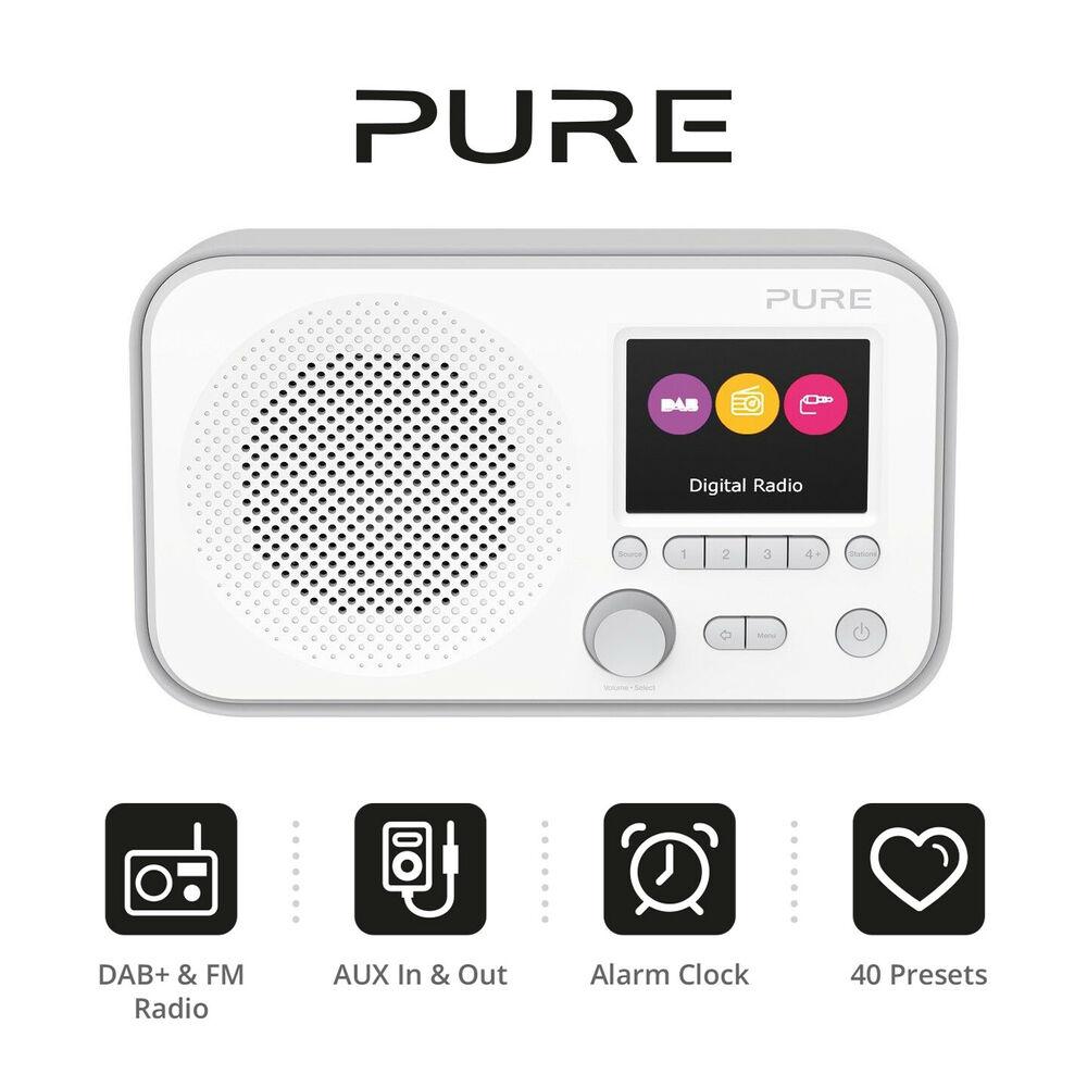 Pure Elan E3 Portable DAB+/FM Radio - Grey - £34.95 @ eBay / velocityelectronics