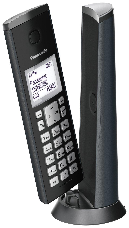 Panasonic KX-TGK220EM Cordless Telephone-GraphiteGrey Single - £29.99 at Argos