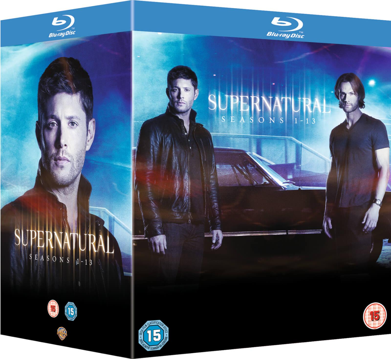 SUPERNATURAL SEASONS 1 - 13 Blu-Rays 47 Discs Boxset Collection £69.99 @ Zavvi