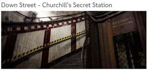 Hidden London : Down Street - Churchills Secret Station Sold out tickets now available Adult £85.00, Concession £80.00