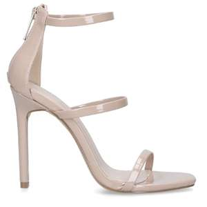 Carvela Kraft Nude Sandals now £25.80 C+C in Extra 30% off Carvela with code promo @ Shoeaholics