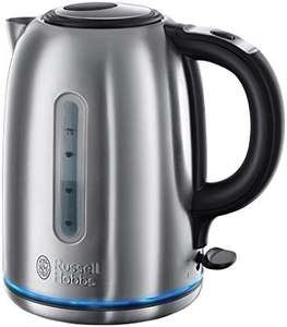 Russell Hobbs 20460 Quiet Boil Steel 3000W Kettle - £21.99 @ Amazon