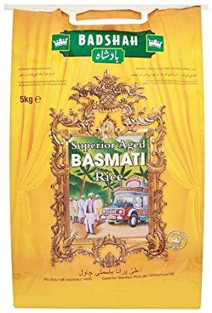 Badshah Basmati Rice 5kg only £5.50 @ Asda