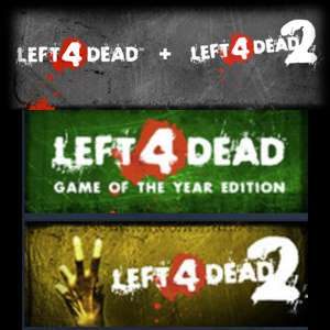 Left 4 Dead Bundle(L4D GOTY, L4D2) PC Steam Key £2 68 @ Steam Store