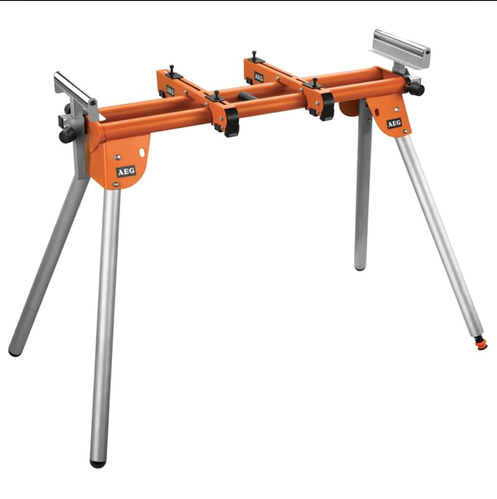 AEG PSU 100 mitre saw legstand - £22 @ Homebase (C&C)