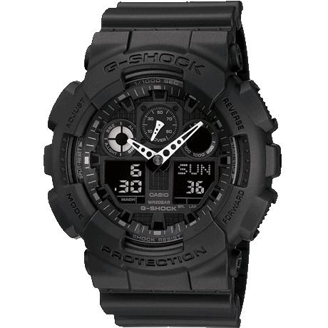 Casio G-Shock Alarm Chronograph Watch GA-100 - £52 at Amazon