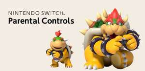 FREE Nintendo Switch Parental Controls app to restrict and supervise your children's Nintendo Switch gameplay