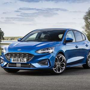 2019 Ford Focus 1.0 EcoBoost 125 ST-Line Nav 24 Month Lease - 8k miles p/a - No deposit + £224.99pm + £100 = £5499.76 @ Leasing Options