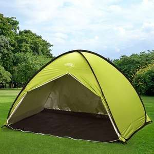 Outdoor Adventure 2 - 3 Person Pop Up Water Resistant PA Coating Tent £20 @ B&M