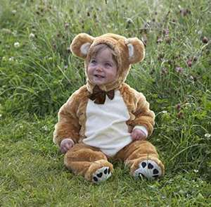 Dress Up Teddy Bear / Ewok Costume for toddlers 6-12 Months RRP £23.99 NOW £12.19 @ Amazon Prime / £16.68 Non Prime