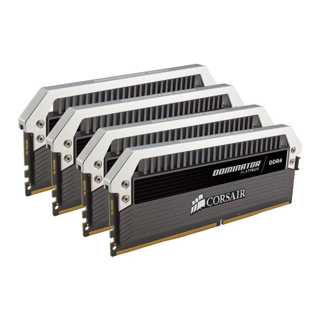 64GB (4 x 16GB) Corsair Dominator Platinum DDR4 3200 Mhz C16 XMP 2.0 Ram £410.39 @ Amazon