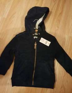 Boys zip up hoodie with fleece lining scanning at £1 (labelled at £9) at Asda Harpurhey