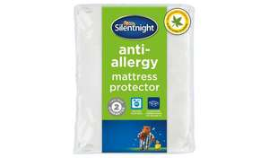 Silentnight AntiAllergy Mattress Protector  Single £7.34 / Double £9.34 / King £10.00 / Superking £11.33 @ Argos free C&C - 2 Year Guarantee