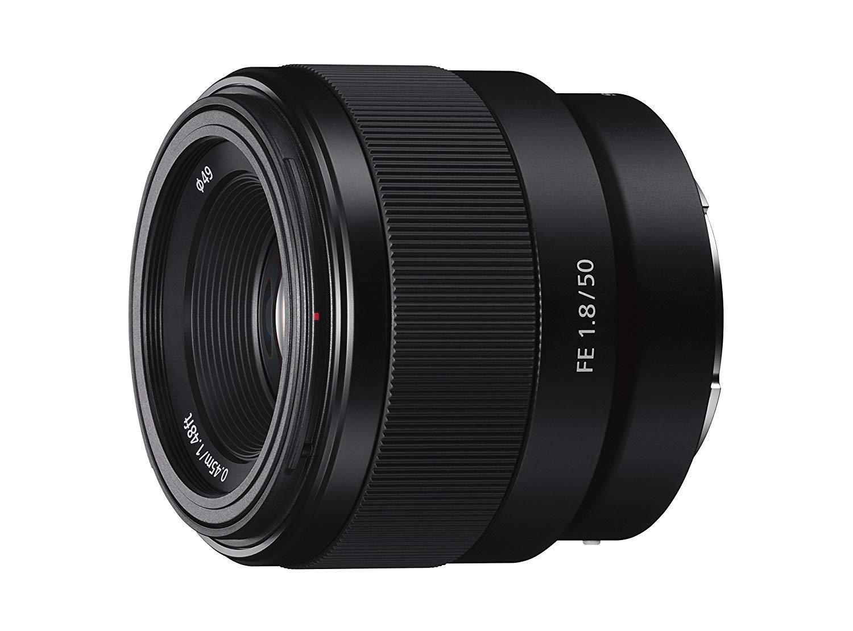 Sony SEL50F18F E Mount Full Frame 50 mm F1.8 Prime Lens - £145 @ Amazon