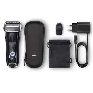 Braun Series 7 Electric Shaver 7842s Wet and Dry Integrated Precision Trimmer Rechargeable Cordless Razor Travel Case £119.99 @ Amazon