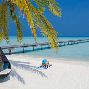 10 day holiday in the Maldives, full board including flights & island transfers £1438pp (£2876) at Voyage Privé