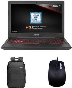 ASUS FX504GM i7-8750H, GTX 1060 6GB, 256GB SSD M.2+1TB, 8GB DDR4 Gaming Laptop (+Backpack, Mouse, Games) £849.99 @ Box