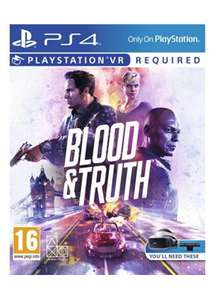 Blood & Truth - PSVR - BASE - Free UK Delivery - £28.85