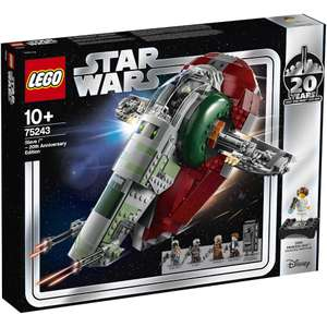 Lego Star Wars slave 20th anniversary - £85 @ IWOOT with code