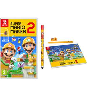 Super Mario Maker 2 with stylus, pad & pencil Nintendo Switch - £44.99 @ Game (Exclusive)