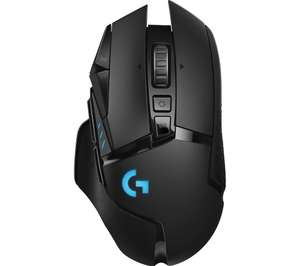 Free logitech mouse mat (£17.99) with a pre order of the Logitech G502 Lightspeed wireless gaming mouse - £129 @ Currys