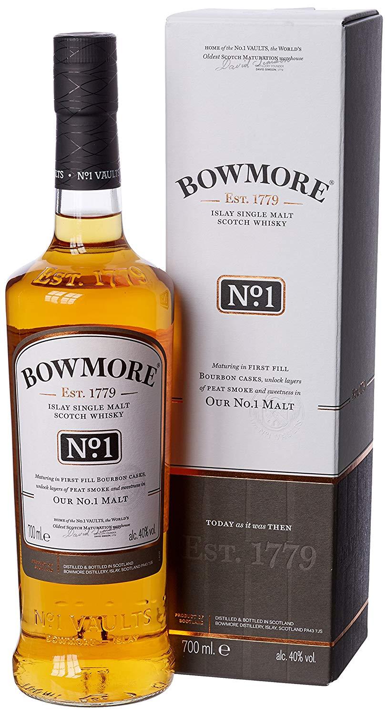Bowmore No.1 Single Malt Scotch Whisky, 70 cl - £20.70 @ Amazon