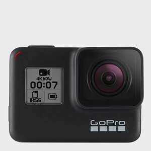 GoPro Hero 7 camera - Black for £319 (possible £303 with tcb) delivered at Blacks