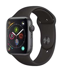 Apple Watch Series 4 (GPS) 44mm Aluminium Black £367.59 (£356 w/ fee free card) with coupon delivered @ Amazon France