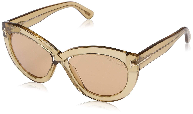 Tom Ford Unisex Adults FT0577 45E 56 Sunglasses Brown Marrone Chiaro Luc/Marrone £51 @ Amazon