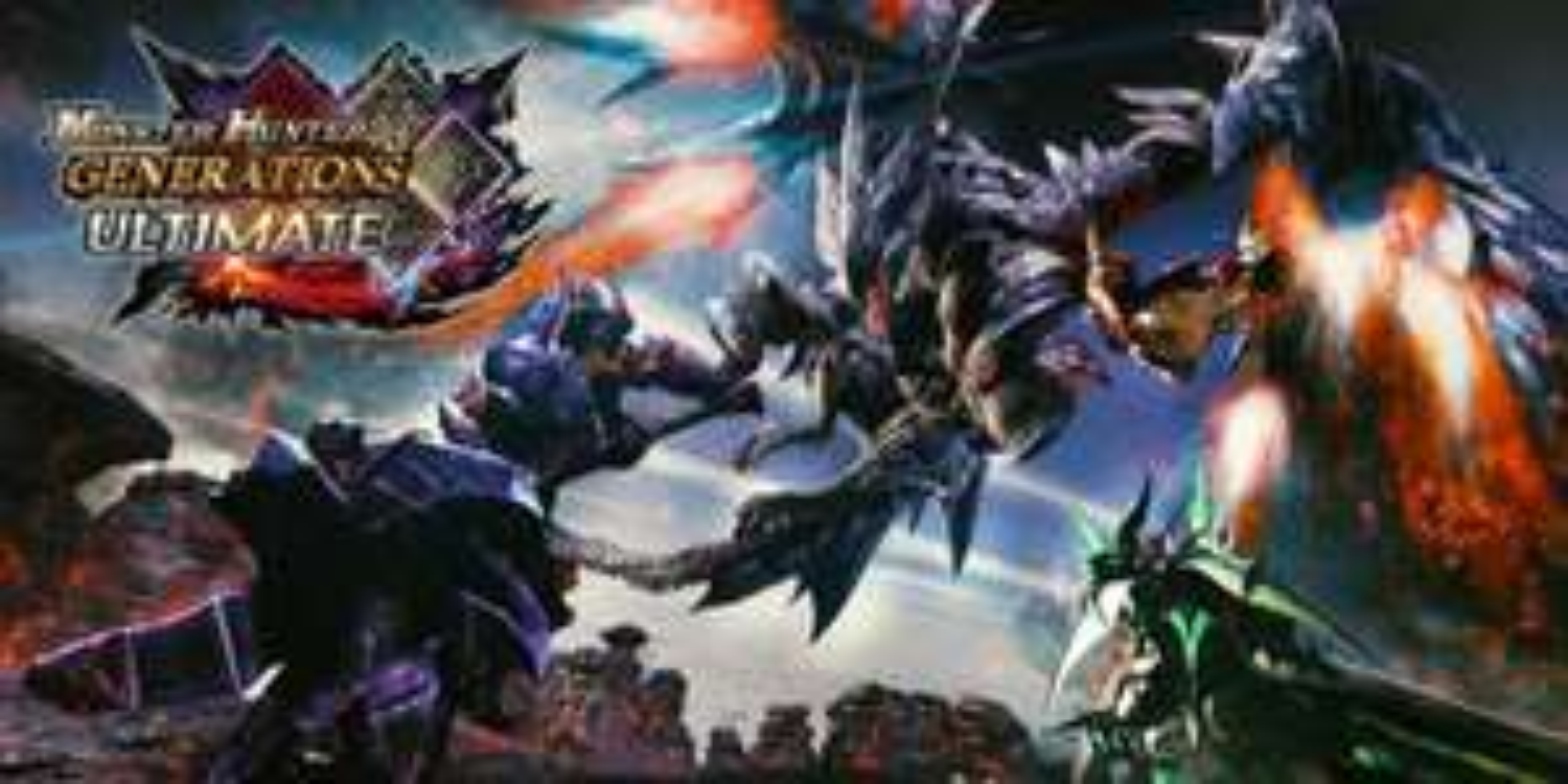 Monster Hunter Generations Ultimate (Switch Digital) 50% Off @ CA/US eShop £23.34