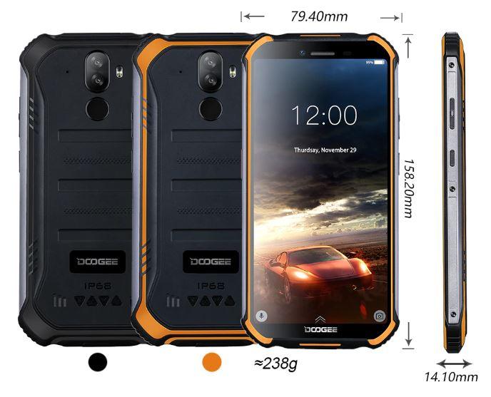 "DOOGEE S40 4G Rugged Phone 5.5"" Display 4650mAh MT6739 Quad Core 2GB RAM 16GB ROM Android 9.0 8.0MP £71.41 @ AliExpress /  AliExpress Doogee"