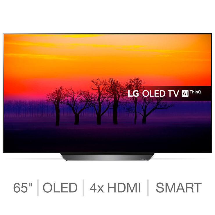 LG OLED65B8PLA 65 Inch OLED 4K Ultra HD Smart TV - £1,499 from Costco
