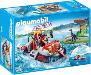 Playmobil Action 9435 Dino Hovercraft with Underwater Motor RRP £29.99 NOW £14.99 at Amazon Prime / £18.48 non Prime