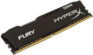 HyperX 16GB (2x8GB) 3200MHz DDR4 CL18 Memory Kit, £73.97 delivered at Ebuyer (buy 2 and get free delivery)