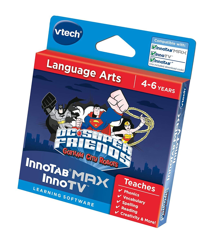 "Vtech 274803 ""InnoTV Innotab Max DC Super Friends Gotham City Robots"" Game RRP £19.9 NOW £5.84 at Amazon Prime / £7.83 non Prime"