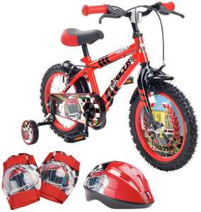 Pedal Pals 14 Inch Racer Kids Bike and Accessories Set - £69.99 Argos
