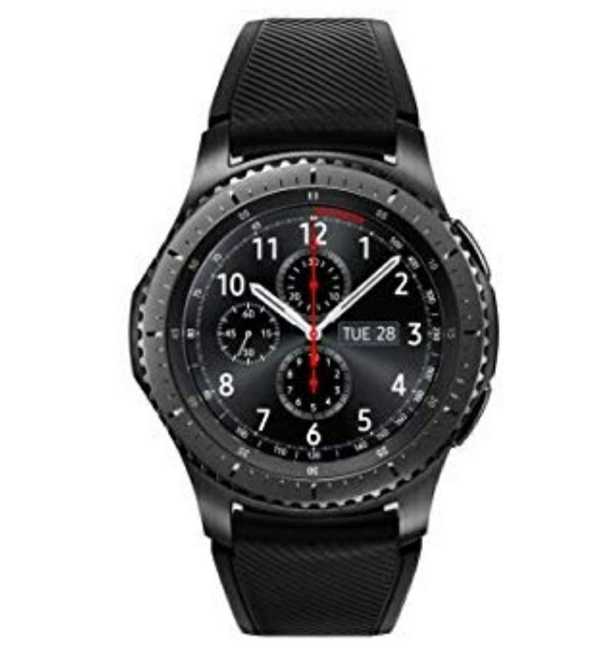 New Samsung Gear S3 Frontier Smart Watch - Black/Grey German Version (Smartwatch) £148.20 @ Amazon