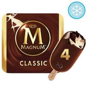 Magnum Classic Ice Cream / Almond / White / Mint 4 X110ml £1.60 (From 21st May) @ Tesco
