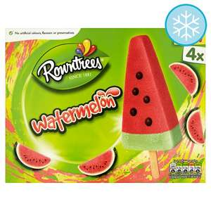 Rowntrees Watermelon Lolly 4X73ml £1.50 // Haagen Dazs Ice Cream Stick 3X80ml £2 From 21st May) @ Tesco