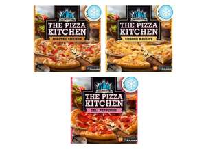 Chicago Town The Pizza Kitchen Roasted Chicken 385g / Cheese Medley 350g  / Pepperoni 355g for £1.50 @ Tesco (from 21/05)