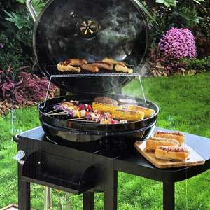 Morrisons Large Round Kettle BBQ 54cm scanning at £20 instore