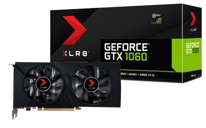 PNY GeForce GTX 1060 XLR8 Gaming OC 6GB GDDR5X Graphics Card £173.47 delivered Ebuyer