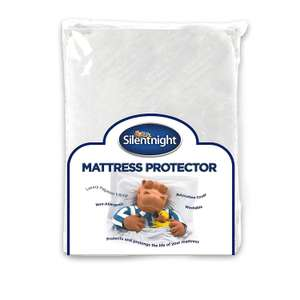 Silentnight Quilted Mattress Protector Plus, White, Super King NOW £11.43 (Prime) / £15.92 (non Prime) at Amazon