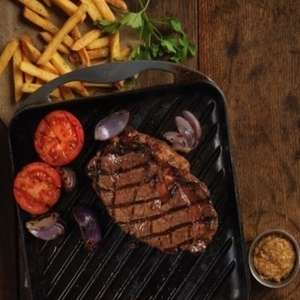 Two Course Steak, Ribs or Chicken Meal and Unlimited Salad £20 (£10pp) for Two People at Harvester via Groupon