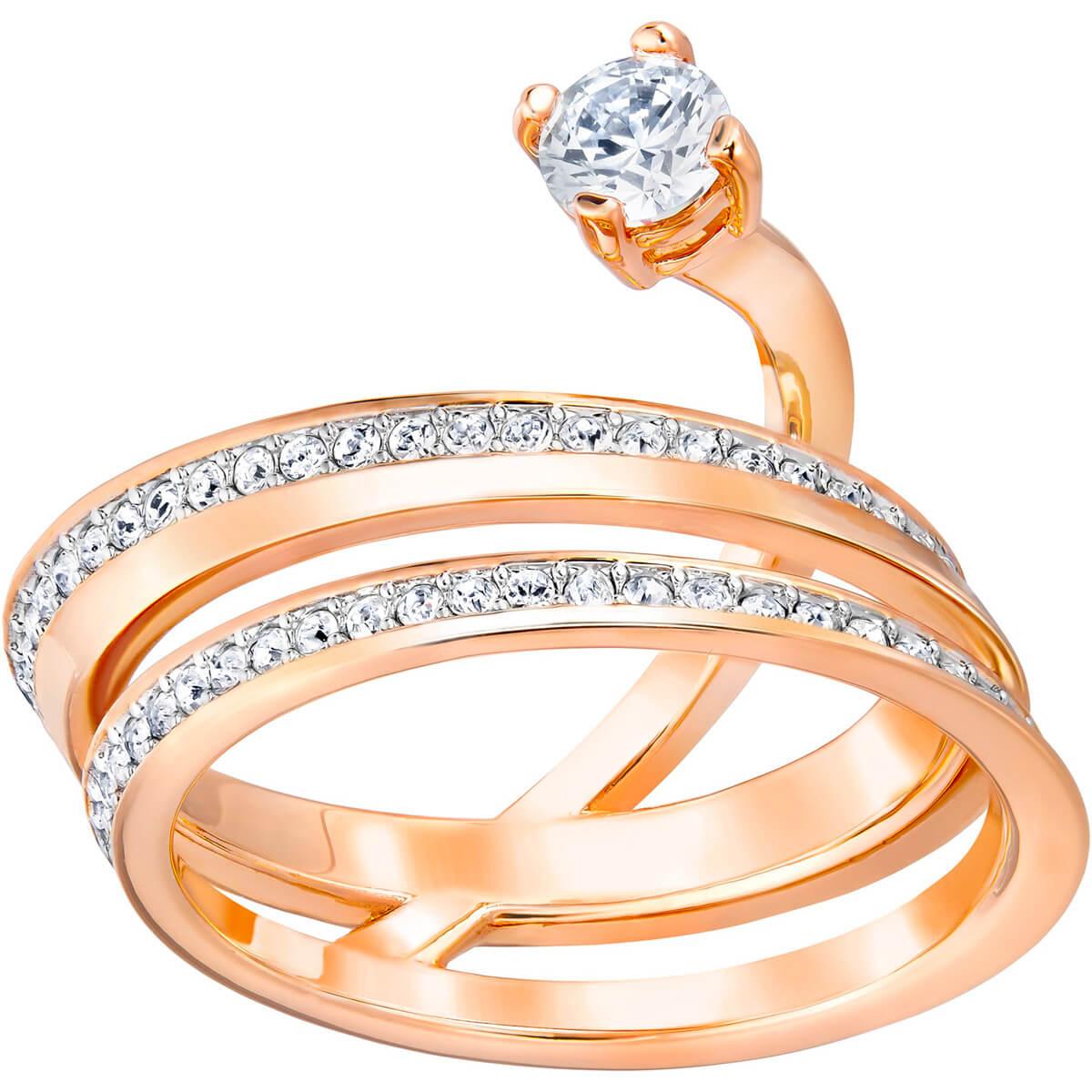 Swarvoski Fresh Ring Rose Gold Plating - SIZE 55  -  £23.95 @ Swarovski online