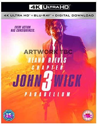 John Wick: Chapter 3 - Parabellum 4k UHD + Blu Ray + Digital